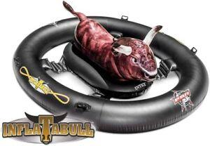 INTEX Inflatabull Bath Island Swim Ring Floating Ring Pool Accessories