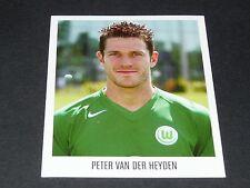 475 VAN DER HEYDEN VFL WOLFSBURG PANINI FUSSBALL 2005-2006 BUNDESLIGA FOOTBALL