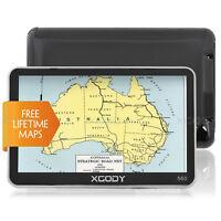"XGODY 5"" Car GPS Navigation SpeedCam POI Navigator Roadmate Free AU Maps Updates"
