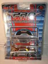 Chevrolet chevy malibu SS 1965 grise muscle car 1/64  maisto pro rodz hot rod