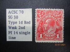 Australian KGV Stamps: Single Stamp (USED) - Excellent Item, Must Have! (V19128)