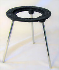 "Lab Bunsen Burner Tripod Cast Iron Support Stand 6"" Height New"