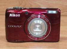 """Genuine Nikon Coolpix (L26) 16.1 MP Compact Digital Camera with 3"""" Inch Screen"""