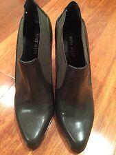 $199 Rare/Unique Colour Nine West  Leather Ankle Boots. Sz: 7M