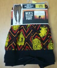 New Mens L 36-38 Lion King Cotton Sleep  Lounge Pants