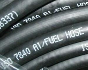 """'Fire Resistent Kraftstoff Marine Schlauch ISO7840, 8mm Bohrung X 0.305m (12"""")"""