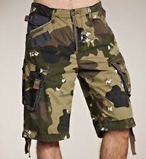 "G-Star Raw 28"" Mens Tarmac Camo Halo Rovic Loose 1/2 Shorts BNWT Combat Pants S"