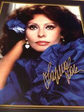 Sophia Loren SIGNED Poster PSA AUTHENTIC AUTOGRAPH PSA/DNA COA
