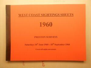 West Coast Sightings Sheets book Preston Summer Saturdays 1960