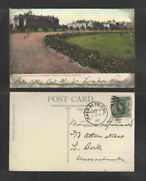 1907 CHEMISTRY BUILDING AND MUSEUM STANFORD UNIVERSITY CALIFORNIA POSTCARD