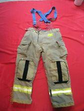 Mfg 2010 Morning Pride 38 X 31 Fire Fighter Turnout Pants Bunker Gear Suspenders