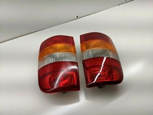 1995-05 Chevy Blazer GMC Jimmy Export Tail Lights Brazil Europe Japan Amber Turn