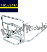 11627 - BACA TRASERO CROMADO PIAGGIO VESPA COSA 125 150 200 1 2 CL CLX