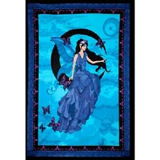 "Fairy Moon Tapestry 52 x 76"" Wiccan Pagan Altar Supply Decor 57466"