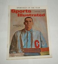 1962 Sports Illustrated OHIO STATE BUCKEYES hoops JERRY LUCAS Sportsman of Year