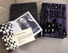 NEU Original Hundertwasser Bibel 1995 Unikat + Schuber Brandneu ungelesen rar