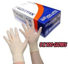 M 500 Powder Free Textured Latex Gloves 5 x 100 Box HygieneHairdresser [UK]
