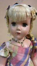 "Gorgeous 17"" Nancy Lee Arranbee doll from 1950 - orig. formal"