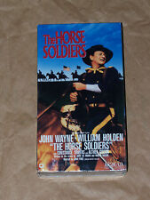 The Horse Soldiers - Factory Sealed VHS - John Wayne, William Holden -1959 color