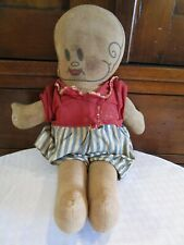 Antique Buttercup Doll 1920's Jimmy Murphy Cl 00004000 oth Rag Doll In Original Clothes Pr