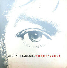 Michael Jackson CD Single You Rock My World - Europe (VG+/VG+)