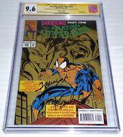 Amazing Spider-Man #390 3x CGC SS Signature Autograph STAN LEE BAGLEY Collectors