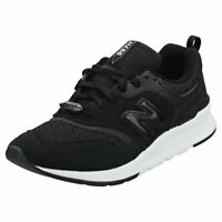 New Balance Cw997 Cult Classic Womens Black Suede & Textile Fashion Trainers