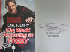 Signed Book The World According to Foggy Carl Fogarty First 1st Edition HBK 2018