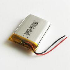 3.7V Li Po Polymer Battery 900mAh Cells For MP3 MP4 PSP Recorder Speaker 803040