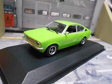 OPEL C Kadett Coupe grün green 1974 Maxichamps Minichamps 1:43