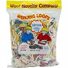Wool Novelty Co. Inc. 412 Cotton Loops 16oz Bag, 412 - Weaving Ozassorted