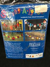 Toland Bbq Banner String-A-Longs Flags Decor Party 10 Ft Grill Hot Dog New Nip