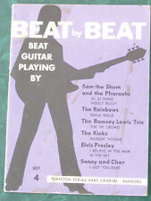 Beat by Beat Bearbeitungen für Schlaggitarre wie für Bassgitarre