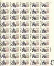 Scott #2036. 20 Cent. Franklin (Treaty U.S. & Sweden). Sheet of 50