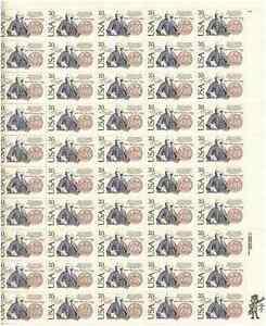 Scott #2036... 20 Cent... Franklin (Treaty U.S. & Sweden)...  Sheet of  50