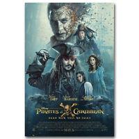 Pirates of the Caribbean Dead Men Tell No Tales Movie Poster Depp v5 24x36
