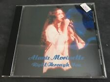 Rare Alanis Morissette Import CD: Right Through You