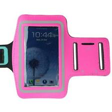 Hot Pink Sports Running Gym Armband Arm Band Case for Samsung Galaxy S5 S4 S3 S2