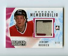 16/17 HEROES & PROSPECTS HEROES MEMORABILIA JERSEY JEREMY ROENICK 8/15 *69004