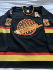 CCM Ultrafil Authentic Vancouver Canucks Pavel Bure Skate NHL Hockey Jersey 52
