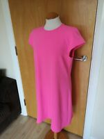 Ladies RIVER ISLAND Dress Size 12 Pink Smart Party Evening Wedding