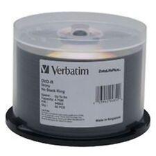 Verbatim DVD-R 4.7GB carton of 4 x 50 Pk Bulk Silver Shiny 16x