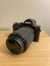 Sony Alpha A7 24.3MP Mirrorless Digital Camera with 28-70mm Lens +Battery Bundle