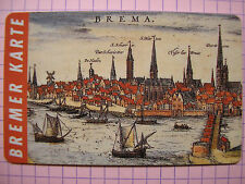 BREMER KARTE BSAG / 67_10-1993 / Stadtansicht / Abo-Monatskarte unbenutzt