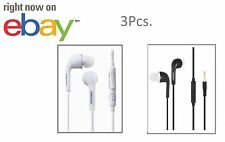 3x OEM  Android Samsung Galaxy Headset Earphone Earbud Volume Control inline Mic