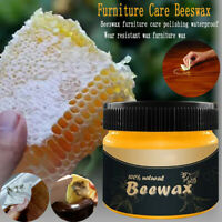Premium Natural Beeswax Home Furniture Care Polishing Bee Wax Conditioner Wood