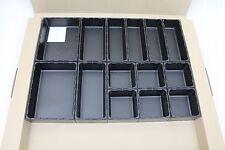 Aqurado Set AQ 5548 modulares Ordnungssystem schwarz 60776