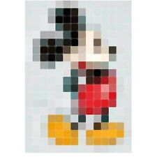 Decoration Wall IXXI Mickey Mouse 140x200 Series Pixel