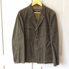 Comme des Garcons waxed cotton engineers chore jacket