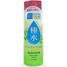Rohto Hadalabo Kiwamizu Mineral Amino Toner 400mL Adlay Essence Vitamin C